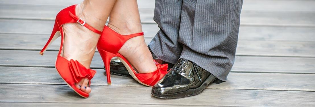scarpe tango sur
